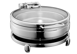 6L Round hydraulic induction chafing dish